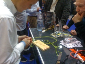 D-SPLICER demonstrated during the RYA Volvo Dinghy Show 2012